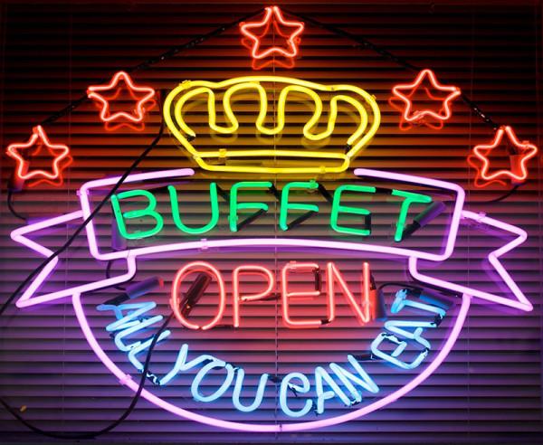 Un buffet a base di arti marziali